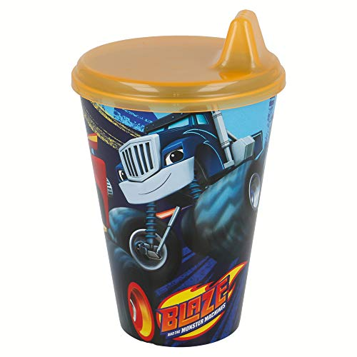 Vaso con Sipper Easy 430 ML | Blaze and The Monster Machines