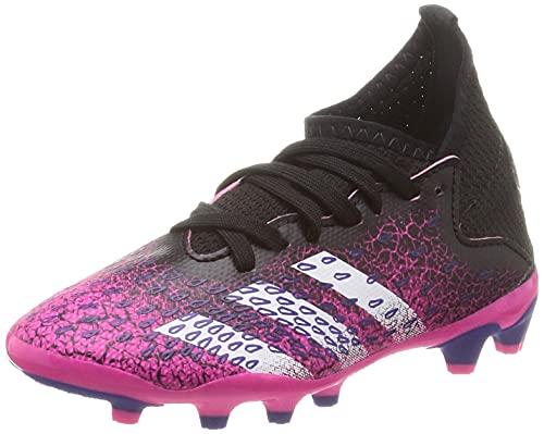 adidas Predator Freak .3 MG J, Zapatillas de fútbol, NEGBÁS/FTWBLA/ROSSHO, 35 EU