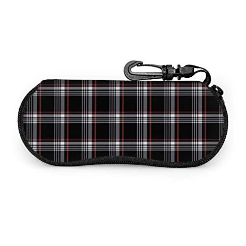 Sonnenbrille Soft Case Brillenetui mit Gürtelclip, Golf Gti Plaid