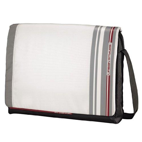 aha: Fog Messenger Tasche für Notebook 40 cm (15,6 Zoll) weiß