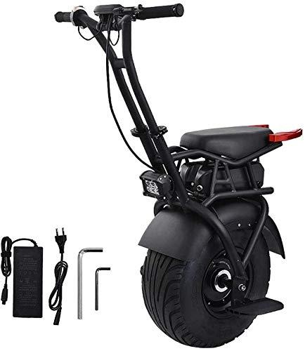 JILIGUALA 18 Inch Elektro-Einrad Einrad Elektroroller Skateboard 1000W Hoverboard E-Einrad E-Bike mit Gyro Force-Bremssystem