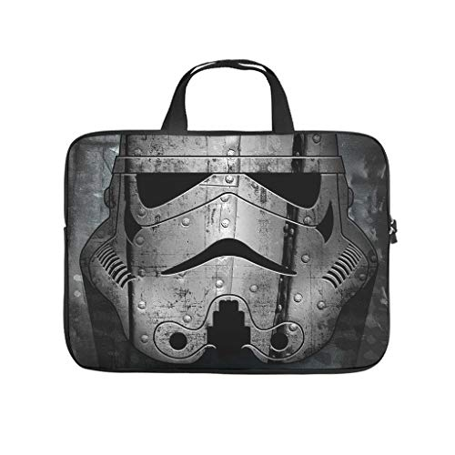 Stormtroopers Star Wars Laptop Bag Abrasion Resistant Waterproof High Capacity Laptop case Sleeve Computer Carry Bag for Work Study for Men Women White 10 Zoll