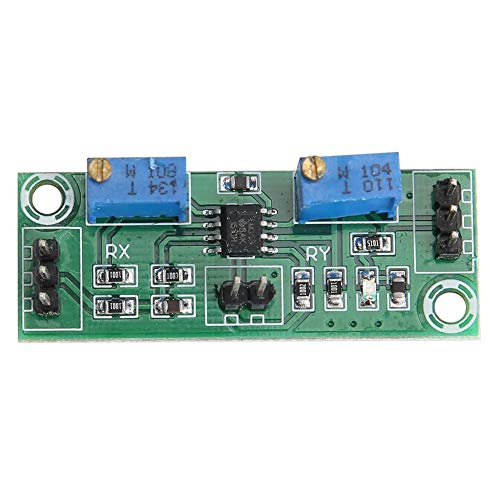 Denash Spannungsverstärker, 2 STK. LM358, 3,5-24 V, schwaches Signal und Spannungsverstärker, 15-20 mA, Leistungssignalsammler für Gleichstromimpulse, Zwei Potentiometer