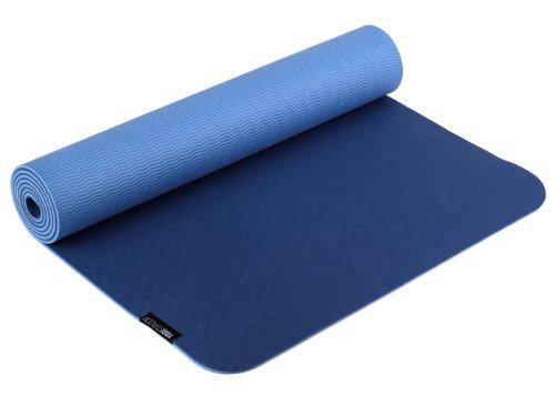 Yogistar PRO Materassino da Yoga, Blu (Bleu)