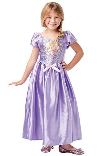 Rubie's Offizielles Disney-Prinzessinnen-Kostüm Rapunzel, klassisches Design, für Kinder im Alter von 9–10 Jahren, Größe 140 cm