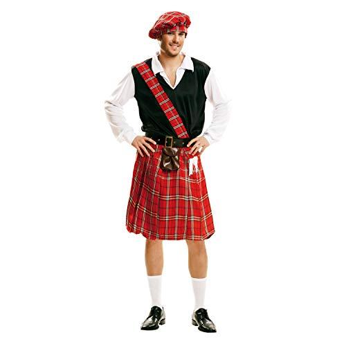 My Other Me-202159 Disfraz de escocés para hombre, M-L (Viving Costumes 202159)