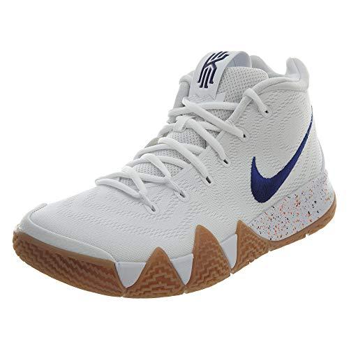Nike Men's Gymnastics Shoes, White White Deep Royal 100, 18 us