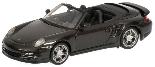 Minichamps 519436930 Porsche 911 Turbo (997 II) 2009 Grey Top Gear Auto Stradali Scala 1/43