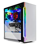Skytech Archangel Gaming Computer PC Desktop – Ryzen 7 3700X 3.6GHz, RTX 2070 Super 8G, 1TB SSD, 16GB DDR4 3000MHz, Stock RGB Heatsink, Windows 10 Home 64-bit, 802.11AC Wi-Fi
