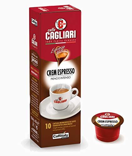50 Capsule Crem Espresso Caffè Cagliari - Caffitaly System
