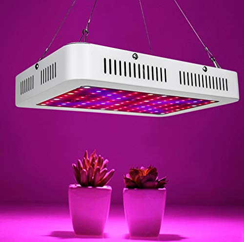 N/D 1000-2000W LED Grow Light Vollspektrum Grow Lampe für Gewächshaus Hydroponic Zimmerpflanzen Gemüse und Blume,1000W