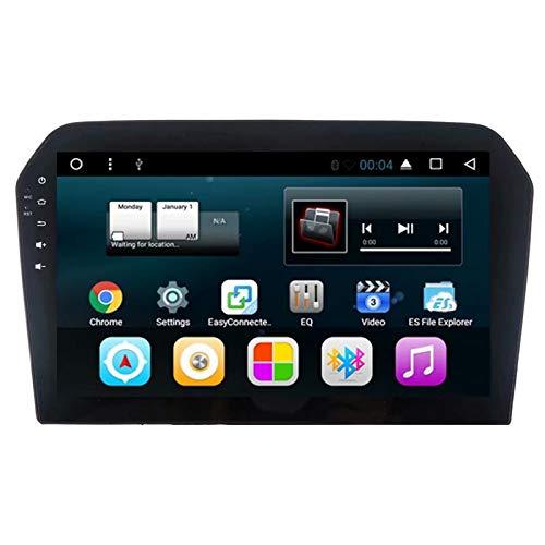 TOPNAVI 16GB Navigation de Voiture pour VW Jetta 2013 2014 2015 2016 Android 7.1 Quad Core Autoradio Stéréo avec GPS 2 Go de RAM WiFi 3G RDS Lien Miroir FM AM Bluetooth Audio Vidéo