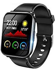 【3色バンド付き】 スマートウォッチ 2021最新版 活動量計 万歩計 IP68防水 6つ運動モード Bluetooth5.0 カラースクリーン スマートブレスレット 輝度調節 天気表示 着信通知 SMS/Twitter/Line/アプリ通知 腕時計 長持ちバッテリー 音楽コントロール 遠隔撮影 日本語アプリ iPhone&Android対応 母の日のプレゼント Bearoam