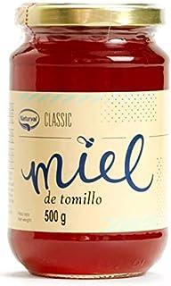 Miel de Tomillo Pura de España 500 grs - MIel de Abeja Natural 100 % 500 grs