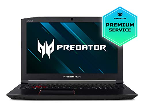 Acer Predator Helios 300 PH315-51-7581 - Ordenador portatil de 15.6\ Full HD (Intel Core i7-8750H, 8GB RAM, 1TB HDD, 128GB SSD, Nvidia GeForce GTX1060, Windows 10) negro - Teclado Espanol