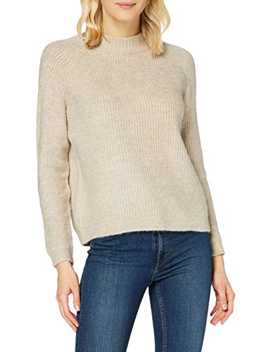 Only ONLJADE L/S Pullover Knt Noos Maglione, Whitecap Gray 2, S Donna