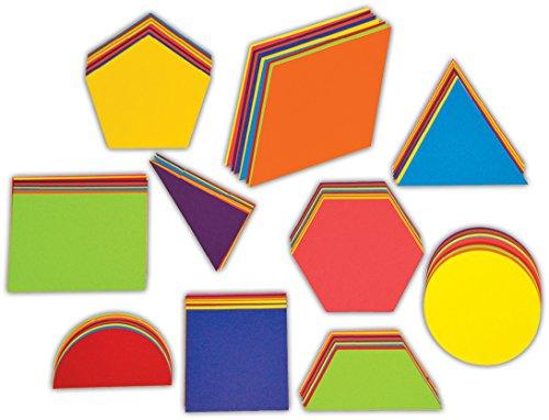 Springboard 40095 Pre-Cut Jumbo Geometric Card Shapes (Pack of 100) 15 x 34 cm