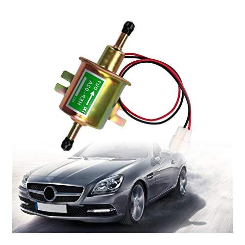 Carburador LEEPEE de baja presión de la bomba de combustible eléctrica 12V bomba de gasolina del perno de fijación del alambre Diesel HEP-02A for el coche automático del carburador de la motocicleta A