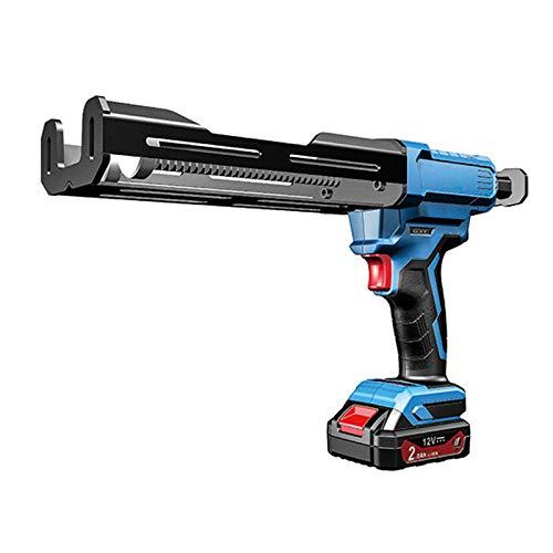 12V eléctrico de doble cartucho adhesivo Pistola para calafatear, sin cuerda automática...