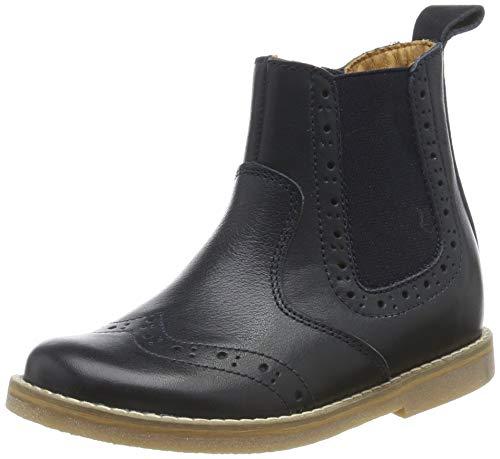 Froddo Unisex-Kinder G3160100 Chelsea Boots, Blau (Dark Blue I17), 34 EU