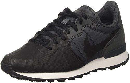 Nike Internationalist PRM Se, Zapatillas Hombre, Negro (Black/Black/Anthracite/Anthracite/Summit White), 46 EU