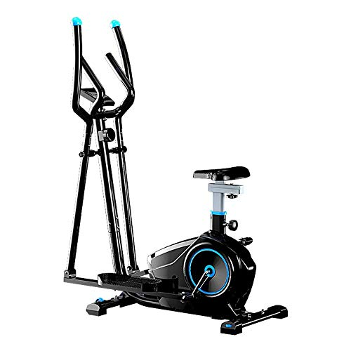 BZLLW Elliptical Machine,Eight-speed Adjustment of Magnetic Control Resistance,Home Mute Magnetron Cross Trainer,for Men and Women