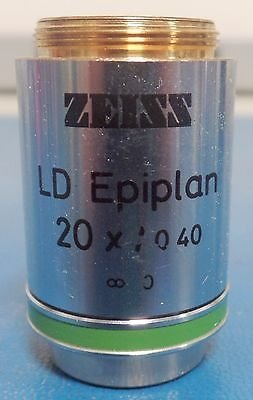 Zeiss LD Epiplan 44 28 40 20x/0.40 Microscope Objective Lens