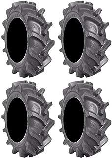 Full set of BKT AT 171 (6ply) 33x8-18 ATV Mud Tires (4)