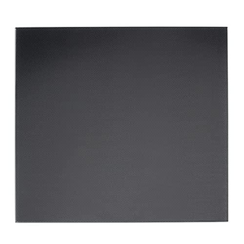 skrskr Placa de vidrio de la superficie de la estructura de la cama caliente de la plataforma de vidrio de la impresora 3D 220 * 220 mm para Anet A8 A6 WanHao i3 impresora 3D