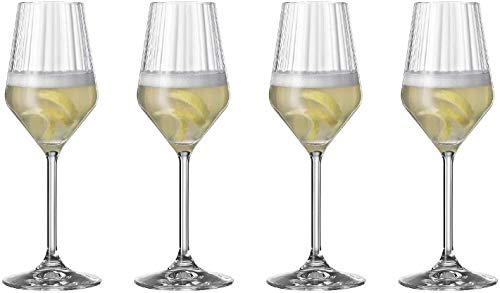 Preisvergleich Produktbild Spiegelau Vorteilsset 6 x 4 Glas / Stck Champagnerglas 445 / 29 LifeStyle 4450177 und Gratis 1 x Trinitae Körperpflegeprodukt