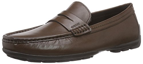 Geox U Moner W 2Fit, Mocassini Uomo, Marrone (Lt Brown C6002), 45 EU