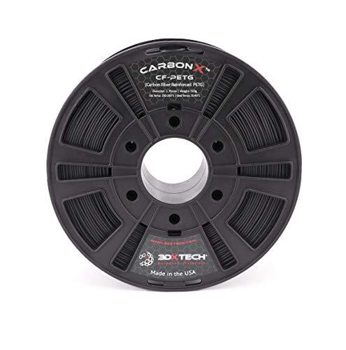 CarbonX Carbon Fiber PETG Filament, 500g (1.75mm)
