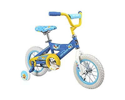 """Baby Shark 12"""" Bike with Removable Training Wheels"""