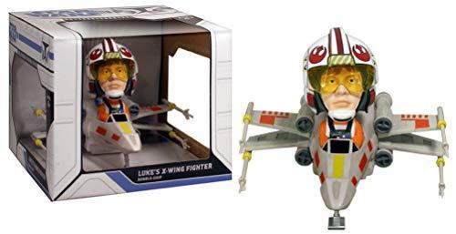 Wacky Wobbler Star Wars Luke X-Wing Fighter Cabezon PVC ca 15cm de Funko