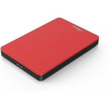 Sonnics 500GB Rojo Disco duro externo portátil de Velocidad de transferencia ultrarrápida USB 3.0 para PC Windows, Apple Mac, Smart TV, XBOX ONE y PS4: Amazon.es: Informática