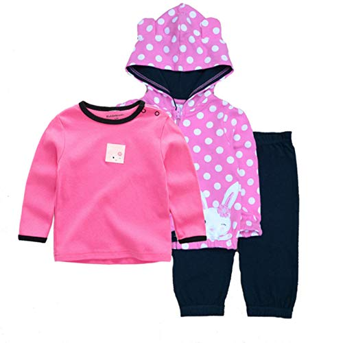 2020 Winter Baby Clothing Set 3PCS Hoodie+T-Shirt+Pants Ropa Bebe 12-24months O-Neck Cotton Infant Costume Baby Boy Girl Clothes,CSL3070T-shirt,24M