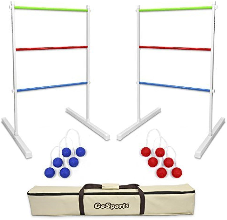 GoSports Premium Metal Ladder Toss Game Set by GoSports