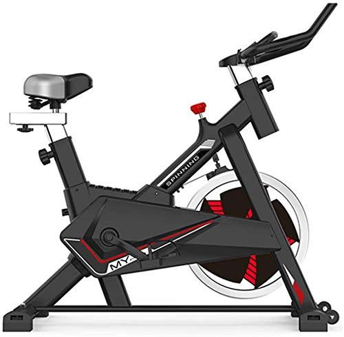 Bicicleta estática Bicicleta de Interior Fitness Ciclismo Estacionaria Ajustable Profesional Super Mute Ejercicio de Entrenamiento Bicicleta Deportiva para Entrenamiento en casa