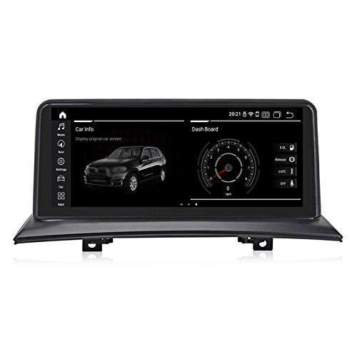 JIBO para B M W X3 E83 Android 10 Auto Estéreo Multimedia Jugador GPS Navegación Cabeza Unidad 10,25' IPS Tocar Pantalla Nav Sat En línea Desconectado Mapas Auto Radio Video Receptor