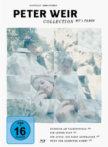 Peter Weir Collection - 4-Disc Boxset ( The Cars That Ate Paris / Picnic at Hanging Rock / The Last Wave / The Plumber ) [ Origen Alemán, Ningun Idioma Espanol ] (Blu-Ray)