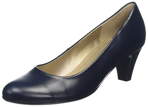 Gabor Shoes Basic, Damen Pumps, Blau (36 ocean (LFS rot), 40 EU (6.5 UK)