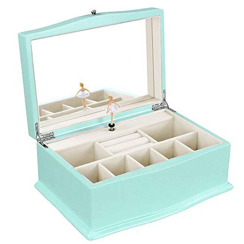 3. SONGMICS Girls Jewelry Box
