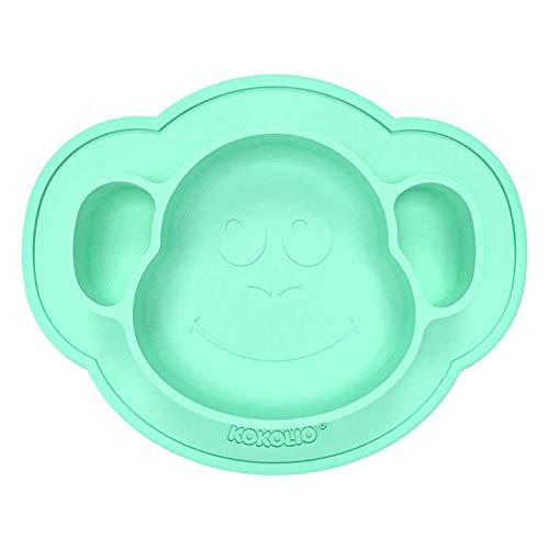 KOKOLIO - platos para bebés y niños - antideslizantes, Made in Germany, platos para bebés con ventosa de silicona, manteles individuales para niños y bebés