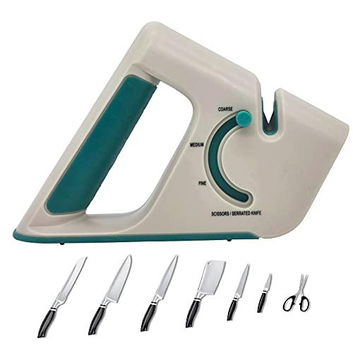 4段階ナイフ研ぎ器 キッチンナイフ ポケットナイフ はさみ 鋸歯刃 修理 修復 修復 研磨