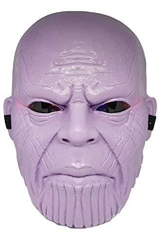 Thanos-masker - kind - masker - superhelden - carnaval - met lichtjes - origineel idee voor een verjaardagscadeau voor kerst