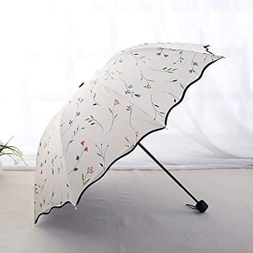 JIAJBG Quality Three Folding Fashion Umbrellas a 70% OFF Outlet Girls Mini Industry No. 1 Rain