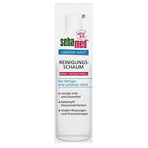 sebamed Unreine Haut Reinigungsschaum, bei fettiger und unreiner Haut, 150 ml