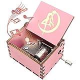 ukebobo Wooden Music Box – Sailor Moon Music Box, Sailor Moon Gifts – Play Sailor Moon Theme Song – 1 Set