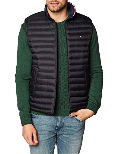 Tommy Hilfiger Herren Weste CORE Packable DOWN Vest schwarz XXXL