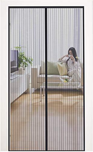 MYCARBON Mosquitera Puerta Magnetica Corredera Cortina Mosquitera Magnética para Puertas Cortina de Sala de Estar la Puerta del Balcón Puerta Corredera de Patio 80 * 200cm